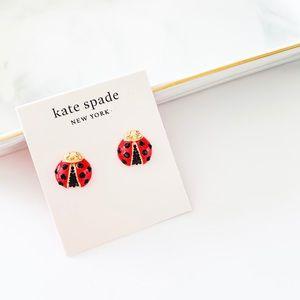 🐞 🐞 Kate Spade Ladybug Stud Earrings